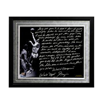 Steiner Sports New York Knicks Walt Frazier The Willis Reed Game Facsimile 16