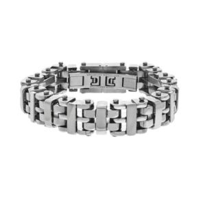 Brooklyn Exchange Stainless Steel H-Link Bracelet - Men