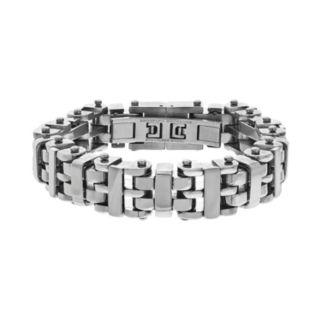 Brooklyn Exchange Stainless Steel H-Link Bracelet - Men