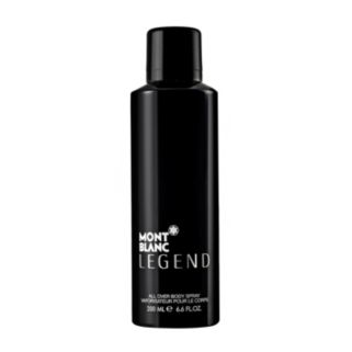 Mont Blanc Legend All Over Body Spray - Men's