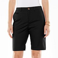 Croft & Barrow® Classic Fit Bermuda Shorts - Women's