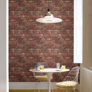 Beacon House Brickwork Exposed Brick Texture Wallpaper