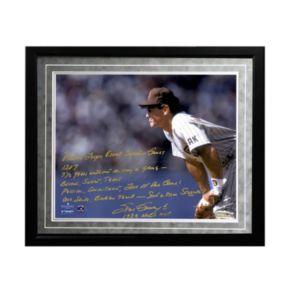 "Steiner Sports San Diego Padres Steve Garvey NL Consecutive Streak Facsimile 16"" x 20"" Framed Metallic Story Photo"