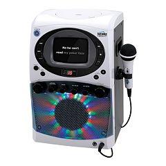Karaoke Night CD+G Karaoke Machine with Light Show & Screen