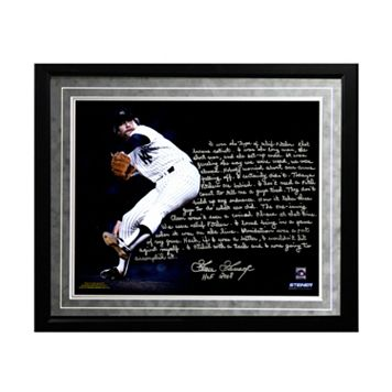 Steiner Sports New York Yankees Goose Gossage On Closing Facsimile 16