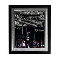 Steiner Sports Houston Cougars Elvin Hayes Being Big E Facsimile 16