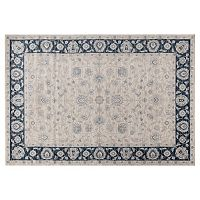 World Rug Gallery Dorsey Hall Floral Framed Rug