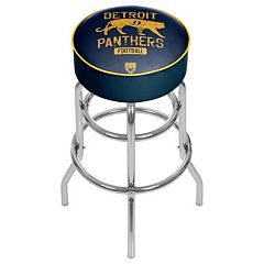 Detroit Panthers Padded Swivel Bar Stool