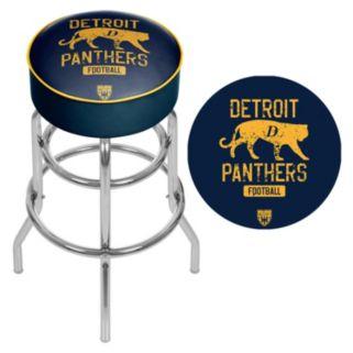 Detroit Panthers Padded Swivel Bar Stool