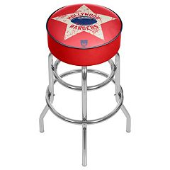 Hollywood Rangers Padded Swivel Bar Stool