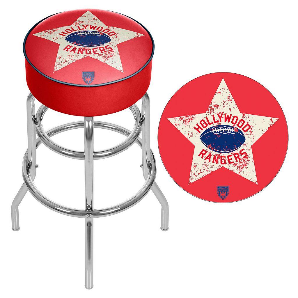Hollywood Rangers Padded Swivel Bar Stool