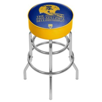 Philadelphia Bell Padded Swivel Bar Stool
