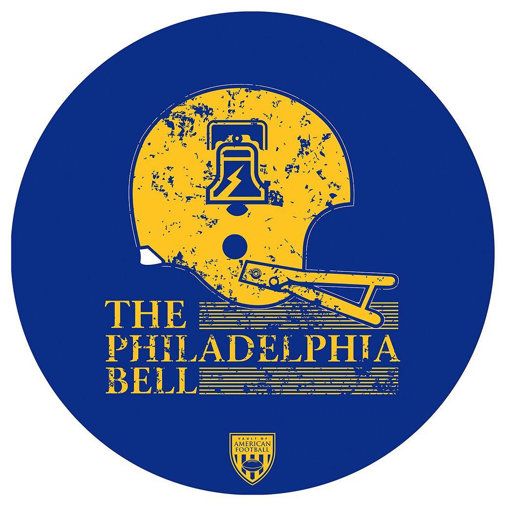 Philadelphia Bell Padded Swivel Bar Stool