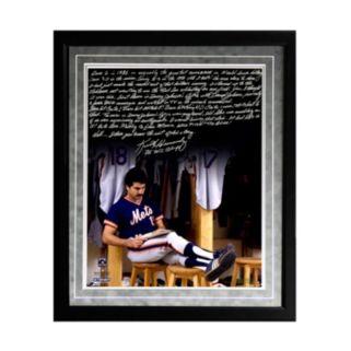 "Steiner Sports New York Mets Keith Hernandez 1986 Buckner Game Facsimile 16"" x 20"" Framed Metallic Story Photo"