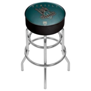 Seattle Bombers Padded Swivel Bar Stool