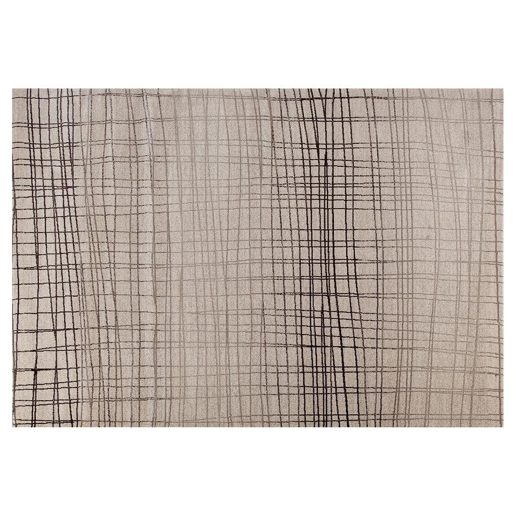 World Rug Gallery Dorsey Hall Geometric Stripes Rug
