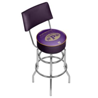 Portsmouth Spartans Padded Swivel Bar Stool with Back