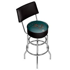 Seattle Bombers Padded Swivel Bar Stool with Back