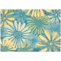 Nourison Home & Garden Daisy Floral Indoor Outdoor Rug
