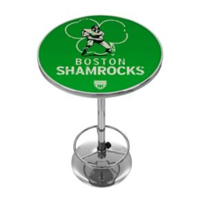Boston Shamrocks Chrome Pub Table
