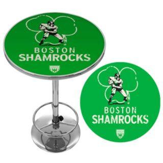 Boston Shamrocks Chrome Pub Table