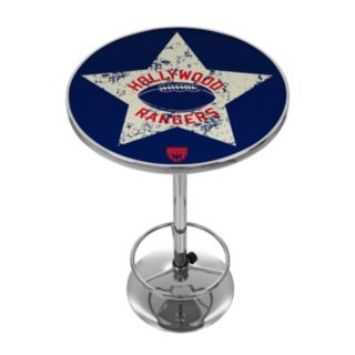 Hollywood Rangers Chrome Pub Table
