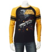 Star Wars Falcon Shot Raglan Tee - Men