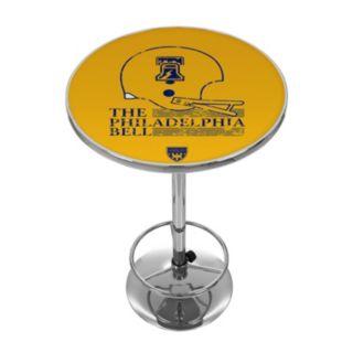 Philadelphia Bell Chrome Pub Table