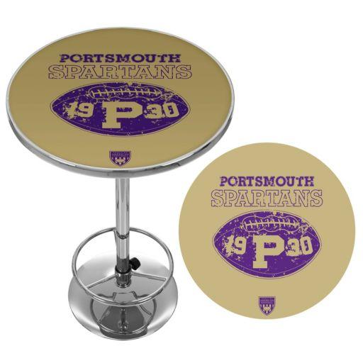 Portsmouth Spartans Chrome Pub Table