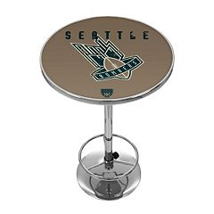 Seattle Bombers Chrome Pub Table