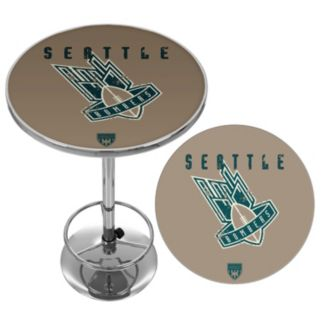 Seattle Bombers Chrome Pub Table