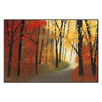 Art.com ''Autumn Road'' Wall Art