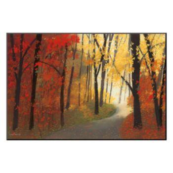 Art.com ''Autumn Road'' Wall Art