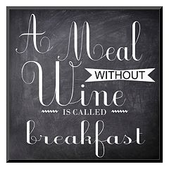 Art.com ''A Meal Without Wine'' Wall Art