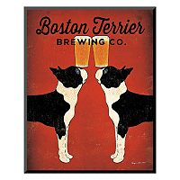 Art.com ''Boston Terrier Brewing Co.'' Wall Art