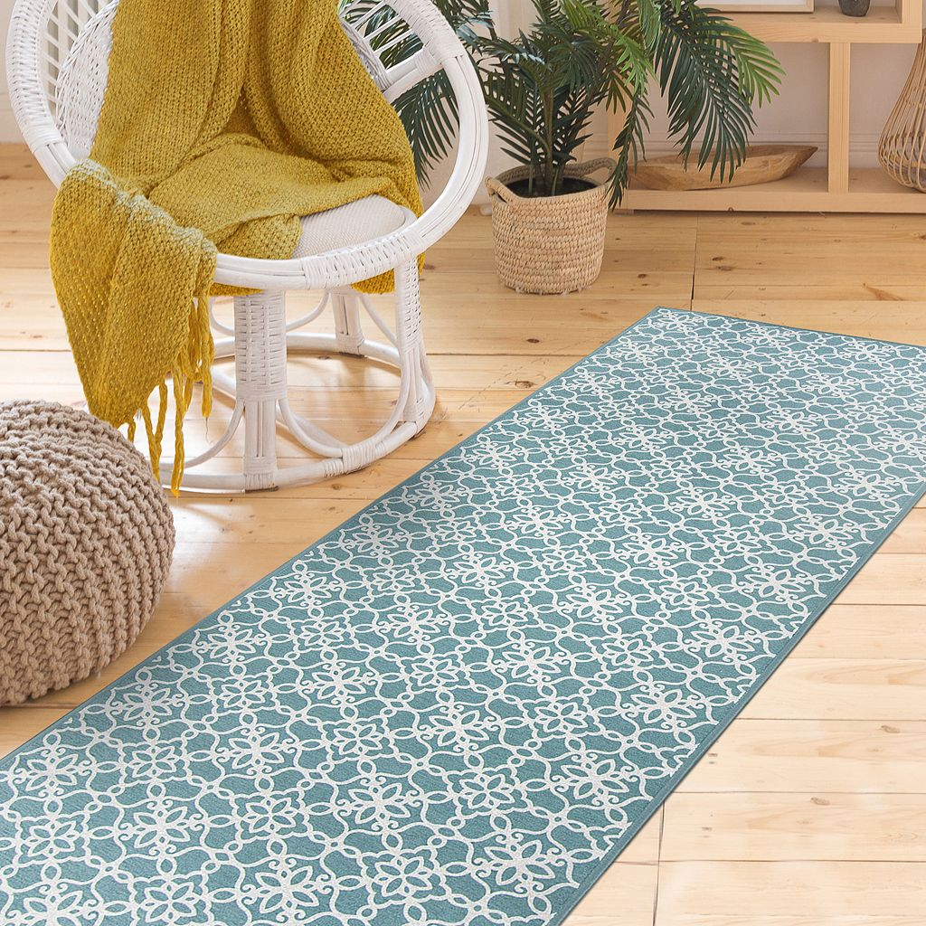 Ruggable® Washable Floral Tiles 2-pc. Rug System