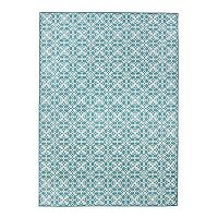 Ruggable® Washable Floral Tiles 2 pc Rug System