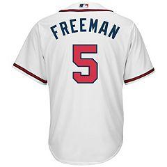 ab3c77c3886 Men s Majestic Atlanta Braves Freddie Freeman Cool Base Replica MLB Jersey