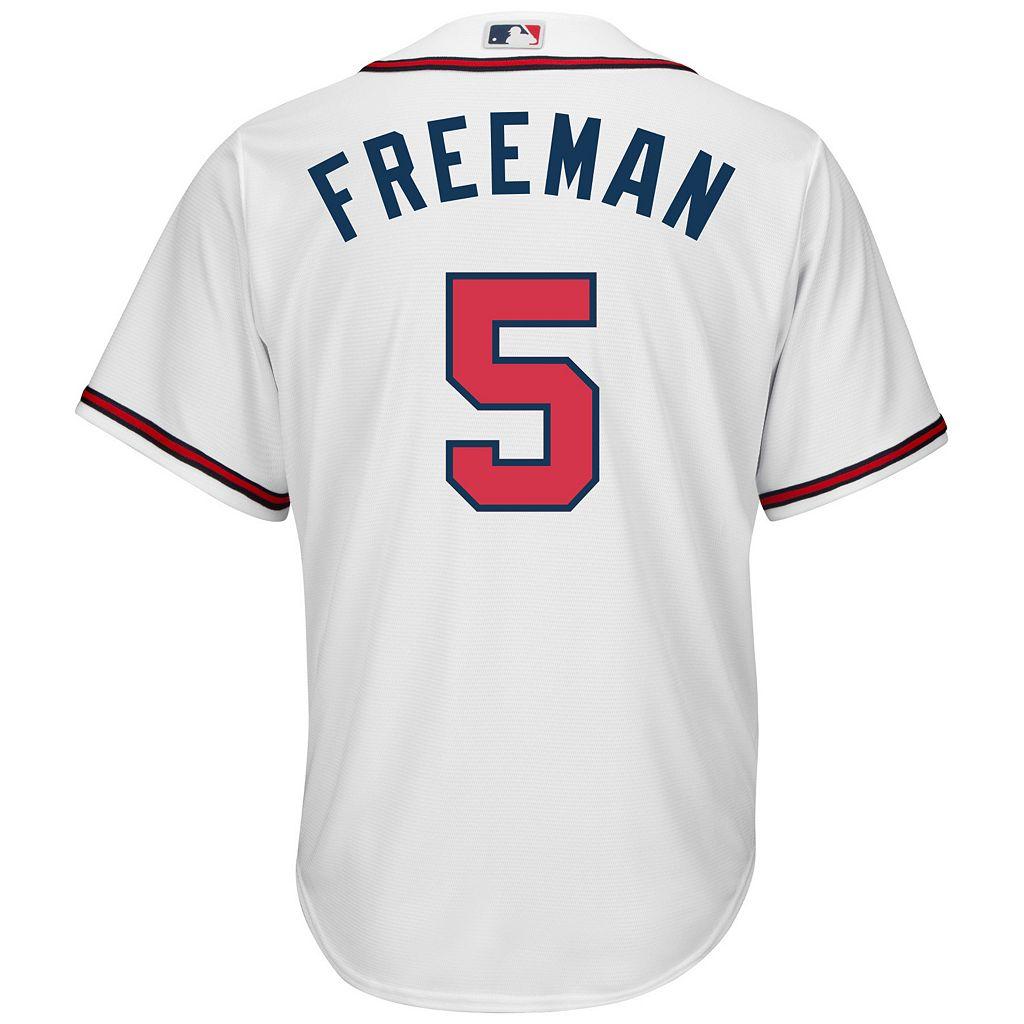 Men's Majestic Atlanta Braves Freddie Freeman Cool Base Replica MLB Jersey