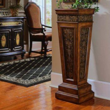 Pulaski York Traditional Pedestal Stand