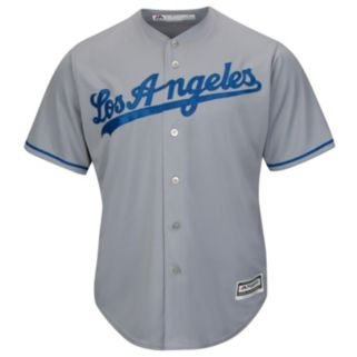 Men's Majestic Los Angeles Dodgers Yasiel Puig Cool Base Replica MLB Jersey