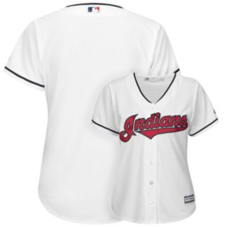 Women's Majestic Cleveland Indians Cool Base Replica Jersey