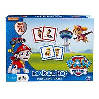 Paw Patrol Look-A-Likes Matching Game by Spin Master
