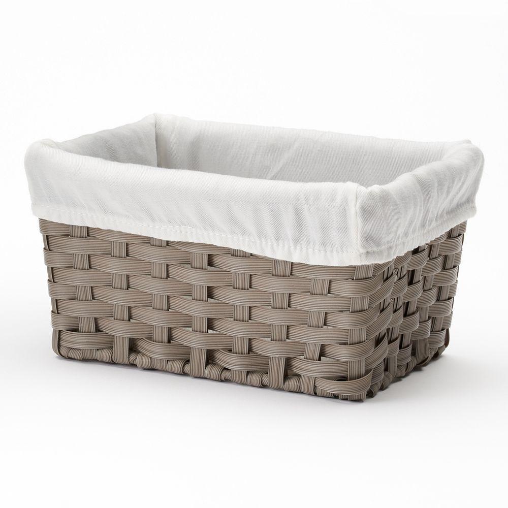 SONOMA Goods for Life® Woven Wicker Bath Basket