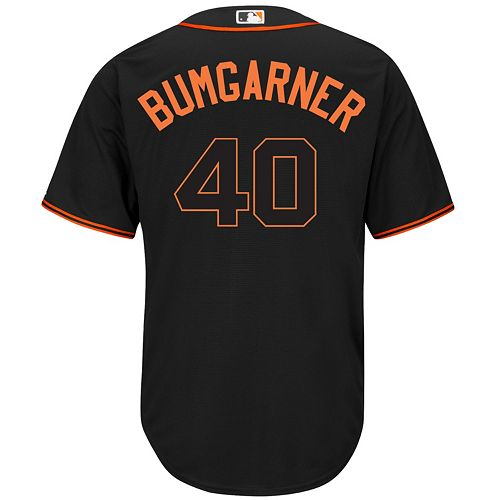 Men's Majestic San Francisco Giants Madison Bumgarner Cool Base Replica MLB Jersey