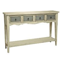 Pulaski Ella 2-Drawer Contrast Console Table