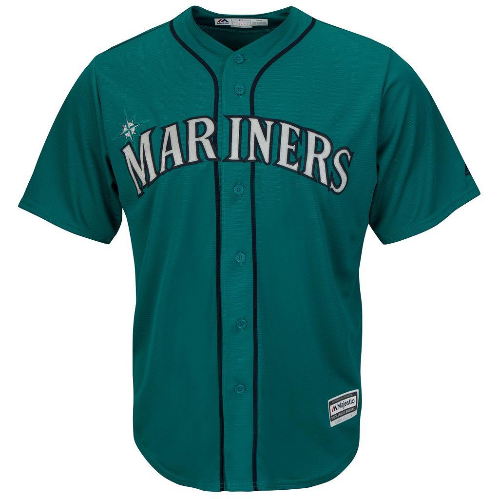Men's Majestic Seattle Mariners Robinson Cano Cool Base Replica MLB Jersey