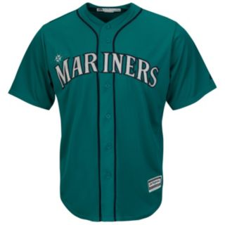 Men's Majestic Seattle Mariners Robinson Cano Cool Base Replica MLB Jersey