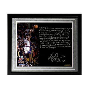 Steiner Sports New York Knicks Larry Johnson 4-Point Play Facsimile 16