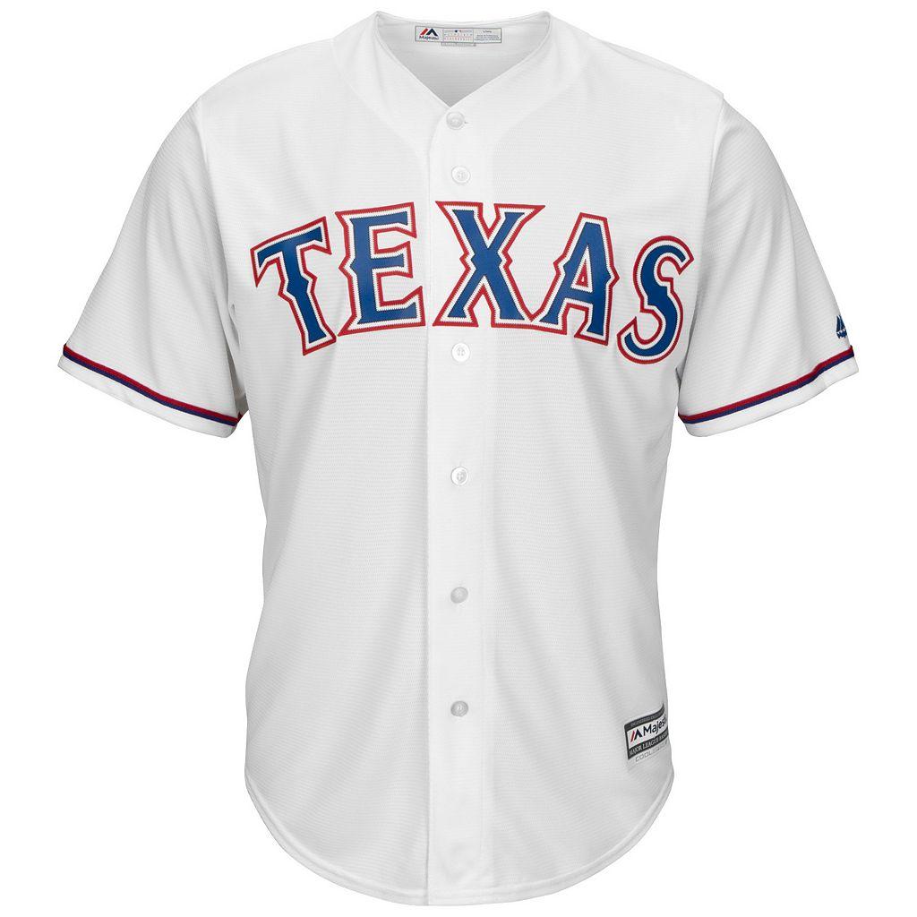 Men's Majestic Texas Rangers Yu Darvish Cool Base Replica MLB Jersey